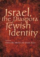 Israel, the Diaspora, and Jewish Identity