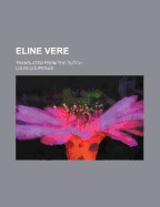 Eline Vere; Translated from the Dutch