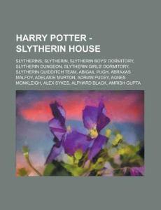 Harry Potter - Slytherin House