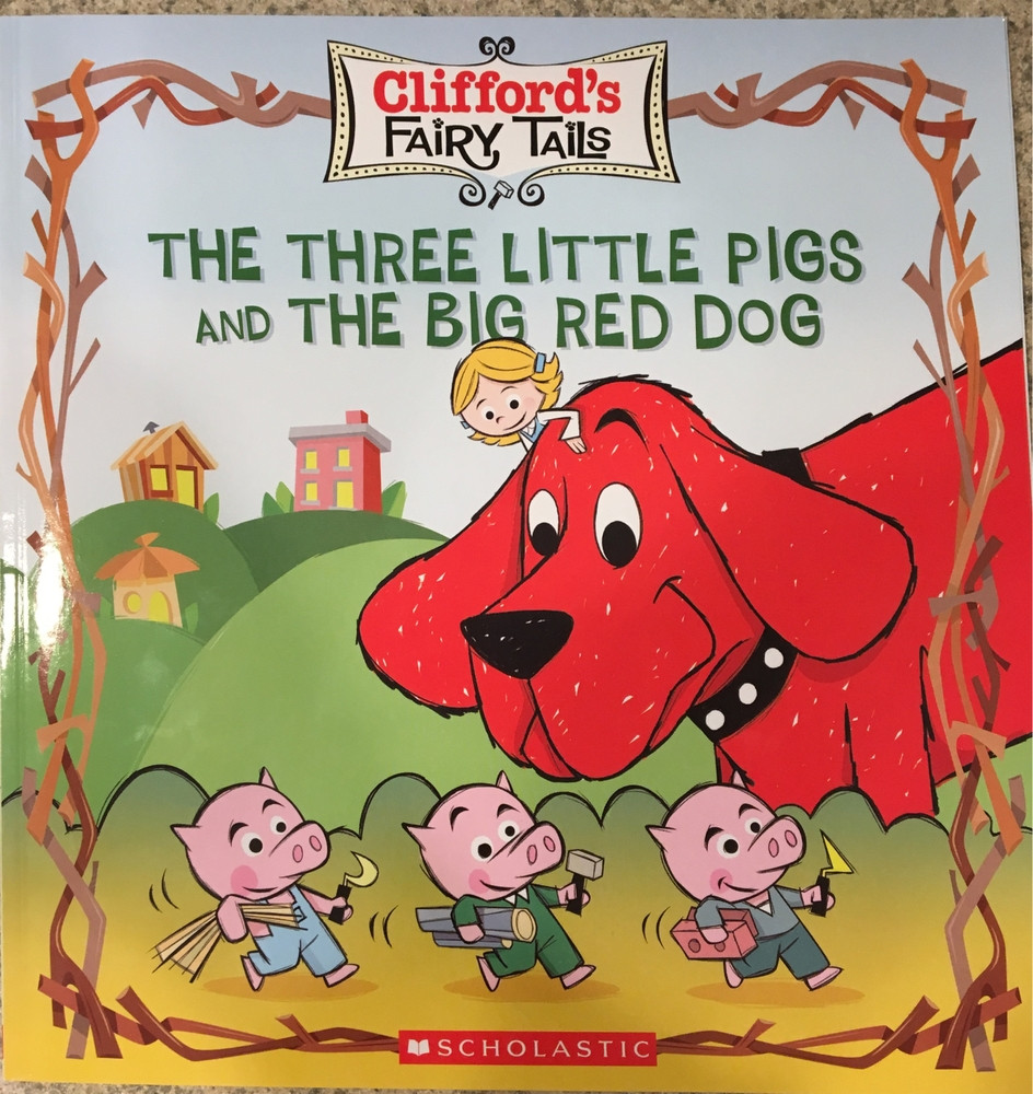 The Three Little Pigs and the Big Red Dog