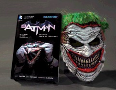 Batman, Volume 3: Death of the Family Book & Mask Set [With Joker Mask]