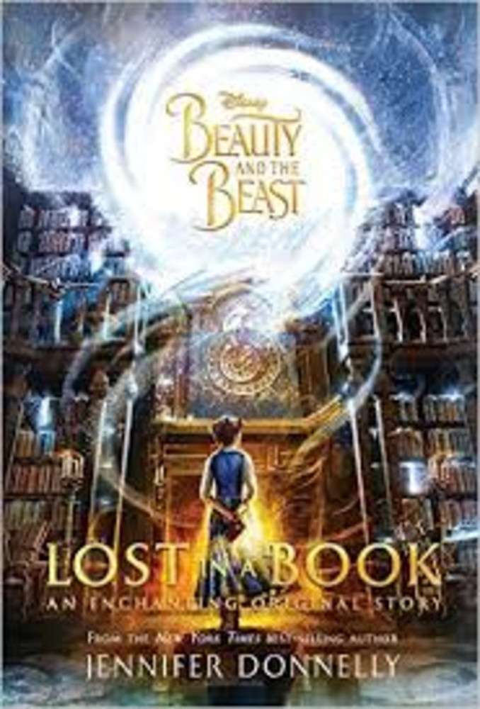 Disney Beauty and the Beast Lost in a Book