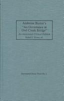 "Ambrose Bierce's ""An Occurrence at Owl Creek Bridge"""