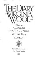 The Diary of Virginia Woolf: 1920-1924