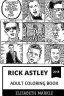 Rick Astley Adult Coloring Book