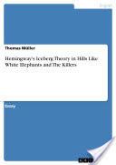 Hemingway's Iceberg Theory in Hills Like White Elephants and The Killers