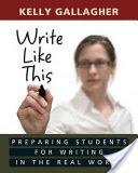 Write Like this