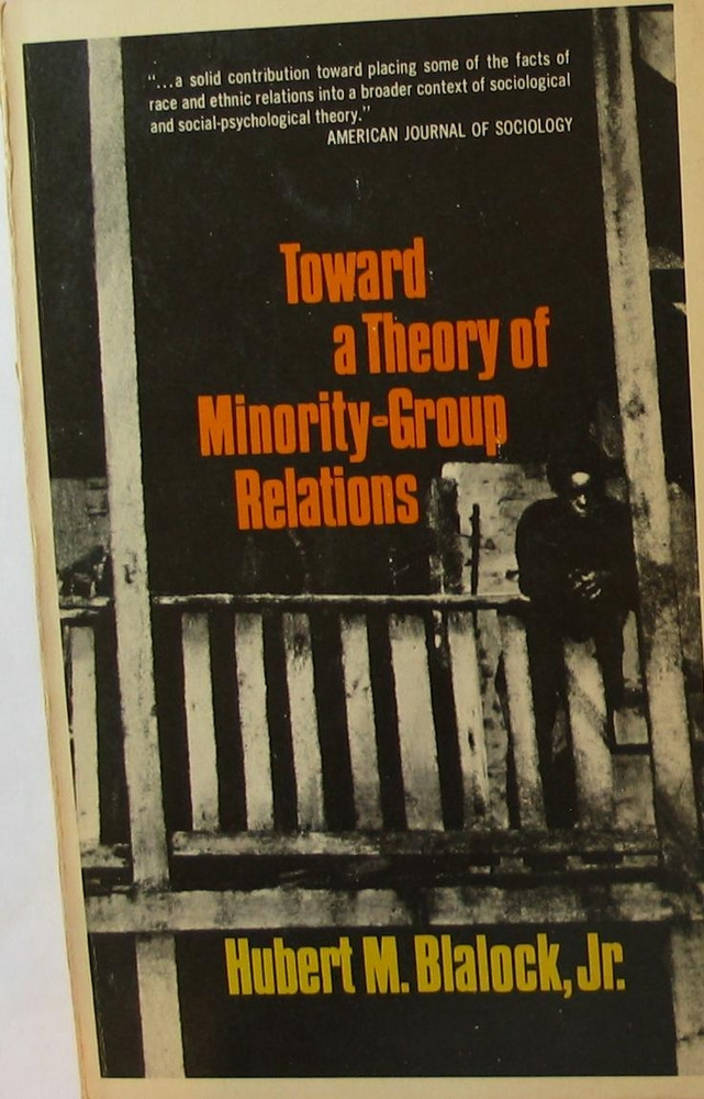 Toward a Theory of Minority-group Relations