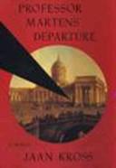 Professor Martens' Departure