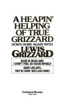 Heapin' Helping of True Grizzard