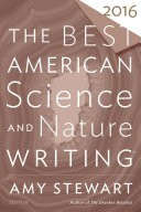 The Best American Science and Nature Writing 2016